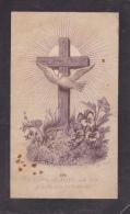 Doodsprentje (6543) Erwetegem - Sint Lievens Essche - VAN DE VELDE / SCHEPENS 1882 - Images Religieuses