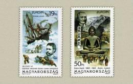 Hungary 1994. EUROPA CEPT Complete Set MNH (**) Michel: 4287-4288 / 4 EUR - 1993