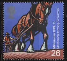 PIA - GRAN BRETAGNA - 1999 : Tournant Du Millenaire : Les  Agriculteurs - (Yv 2126-28) - 1952-.... (Elizabeth II)