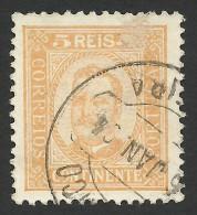 Portugal, 5 R. 1892, Sc # 67, Mi # 66A, Used - 1892-1898 : D.Carlos I