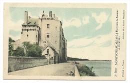 CPA -MONTSOREAU -ENVIRONS DE SAUMUR -LE CHATEAU -Maine Et Loire (49) -Pub. De La Solution Pautauberge (médicament) - Autres Communes