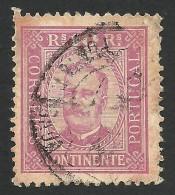 Portugal, 10 R. 1892, Sc # 68, Mi # 67B, Used - 1892-1898 : D.Carlos I