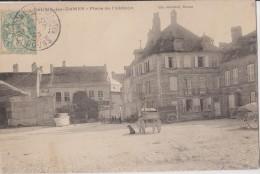CP 25 BAUME LES DAMES  PLACE DE L'ABBAYE - Baume Les Dames