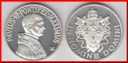 *** ITALIE - ITALIA - VATICAN - VATICANO - MEDAILLE PAPE PAUL VI IN NOMINE DOMINI - UNC NEUVE *** EN ACHAT IMMEDIAT !!! - Altri