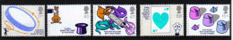 GB 2005 QE2 Magic Set Of 5 Stamps SG 2525 - 2529 UMM ( G966 ) - Unused Stamps