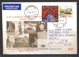 Romania 2005 Buchuresti (17.06.05) To New Albany Ohio USA - Brieven En Documenten