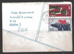 DDR 1967 Eberswalde (27.9.67) to Czechoslovakia