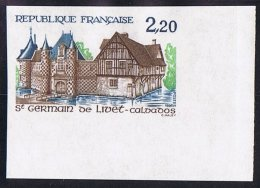 1986    St Germain-de-Livet, Calvados  Yv 2407 ** - Francia