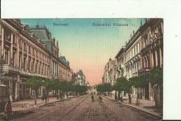 RO71  ---    BUCURESTI   --   BOULEVARD ELISABETA  --  SHOP:  GUERIA MEDICINALA, GALTER, TAPETE, MOBILE, J. M. WIEDEMANN - Romania