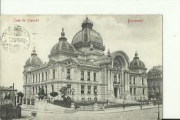 RO74  ---    BUCURESTI   --   CASA DE DEPUNERI   --  1909 - Romania