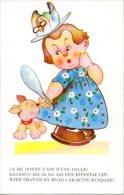 Taylor Illustrator Illustrateur Meisje Fille Girl Mädchen Special Hat  Hond Chien Dog Hund Humor Humour Humoristique - Taylor