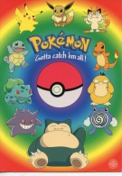 CP Pokémon Gotta Catch ém All ! N°146 Nitendo (jeux Bande Dessinée Série TV) - Comicfiguren