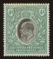 East Africa And Uganda Protectorates Scott #12, 1903, Hinged - Kenya, Uganda & Tanganyika