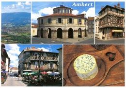 Ambert Multivues : Aérienne Vallée Dore Mairie Maison Colombage Place Minimes Fourme D'ambert (debaisieux) - Ambert