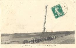 Militaria - Echelle Gugumus Pour L'observation Du Tir Du 155 TR - Equipment