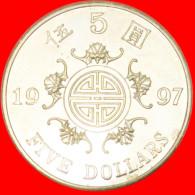 ★LONGEVITY ★ HONG KONG★ 5 DOLLARS 1997! LOW START ★ NO RESERVE! - Hong Kong