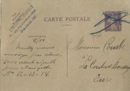 Carte Postale Sans Illustration /Fab. Instrum.  Musique/L'Industrie Musicale /Courbe/La Couture Boussey/Vers1927 PART198 - Autres