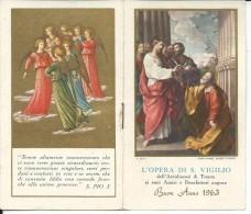 CAL572 - CALENDARIETTO 1963 - L'OPERA DI S. VIGILIO - Calendari