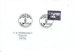 GROENLAND. Enveloppe Ayant Circulé En 1988. DRAMMEN´88. - Filatelistische Tentoonstellingen