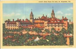 CPSM USA - Saint Augustine - Florida - Hotel Ponce De Leon - St Augustine