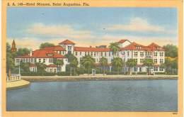 CPSM USA - Saint Augustine - Florida - Hotel Monson - St Augustine