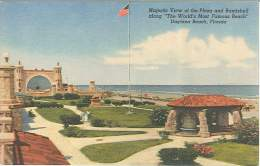 CPSM USA - Daytona Beach - Majestic View Of The Plaza And Bandshell - Daytona