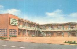 CPSM USA - Statesville - North Carolina - Downtown Motor Court - Etats-Unis