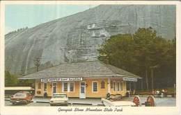 CPSM USA - Stone Mountain - Georgia - State Park - Etats-Unis