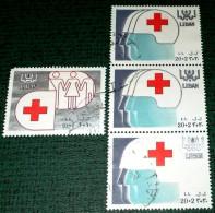 Lebanon, 1988, Red Cross. - Liban