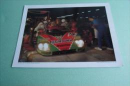 Jan15     675485    Photo   24 Heures Du Mans  Mazda 787 B   Weilder Herber  Gachot - Automobile - F1