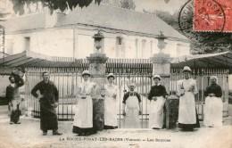 LA ROCHE-POSAY-LES-BAINS - Les Sources -1907 - - La Roche Posay