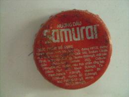 Vietnam Viet Nam Coca Cola SAMURAI Used Crown Cap / Kronkorken / Chapa / Tappi - Caps