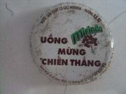 Vietnam Viet nam Mirinda UONG MUNG CHIEN THANG used crown cap / kronkorken / chapa / tappi