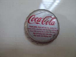 Vietnam Viet Nam Coca Cola 2014 Used Crown Cap / Kronkorken / Chapa / Tappi - Caps