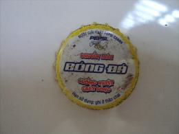Vietnam Viet nam Pepsi Lemon Football promotion used crown cap / kronkorken / chapa / tappi