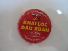 Vietnam Viet nam PEPSI LOC 2005 used crown cap / kronkorken / chapa / tappi