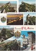 ITALIA SAN MARINO MULTIVUES ET AUTRES LOT DE 9 BELLES CARTES RARE !!! - San Marino
