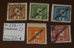 Österreich Michel Nr: 247 -51 Gebraucht  #4102 - Usados