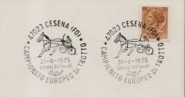 1975 Italia Cesena Trotto Horse Harness Racing Cheval Trot Cavallo Caballo Ippica Hippique Italy Italie - Horses