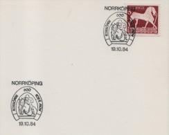 1984 Sweden Norrkoping Horse Show Racing Cheval Cavallo Caballo Ippica Hippique - Horses