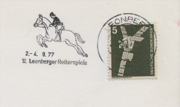 1977 Germany Leonberger Reiterspiele Pony Horse Show Cheval Cavallo Caballo Ippica Hippique - Horses