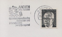 1975 Germany Aachen Horse Jumping Show Cheval Cavallo Caballo Ippica Hippique - Horses