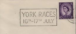 1965 GB York Horse Racing Cheval Cavallo Caballo Ippica Hippique - Horses