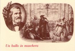 GIUSEPPE  VERDI  ,  Opera  , Un Ballo In  Maschera    * - Musique Et Musiciens