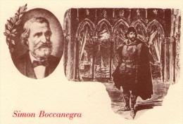 GIUSEPPE  VERDI  ,  Opera  :  Simon  Boccanegra     * - Musique Et Musiciens