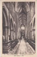 CPA - DOL-DE-BRETAGNE - La Nef De La Cathédrale - Dol De Bretagne