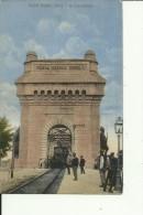 RO88  ---    CERNAVODA   --  PODUL REGELE CAROL I.   --  TRAIN, ZUG, BAHNHOF, LA GARE  --   WRITEN 1919 - Romania