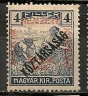 Timbres - Hongrie - Territoires - Szeged - 1919 - 4 F. - - Szeged