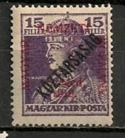 Timbres - Hongrie - Territoires - Szeged - 1919 - 15 F. - - Szeged