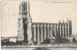 ALBI - 81 - La Cathédrale Sainte Cécile Coté Sud - VAN - - Albi